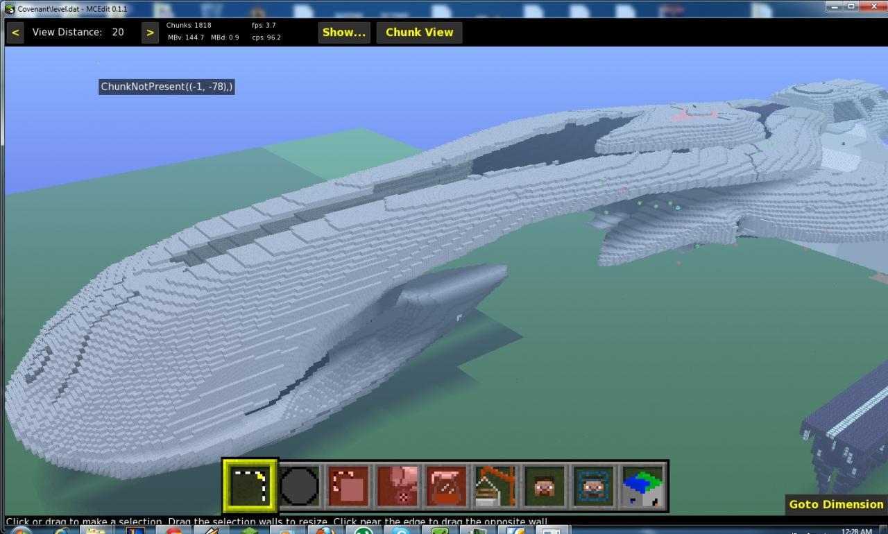 Halo: CAS-class assault carrier Minecraft Project