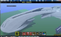 Halo: CAS-class assault carrier Minecraft Map & Project