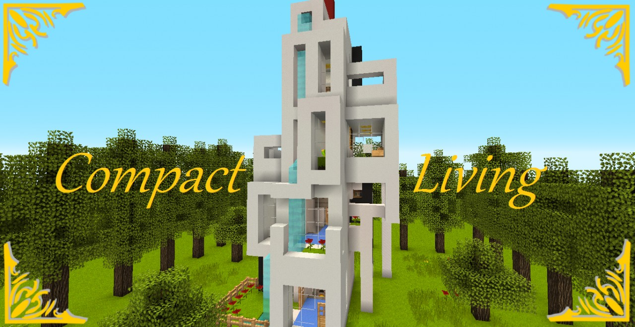 Compact Living 1 Minecraft Project