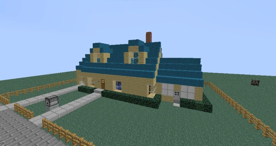 The Griffins House Minecraft Family Guy House Minecraft