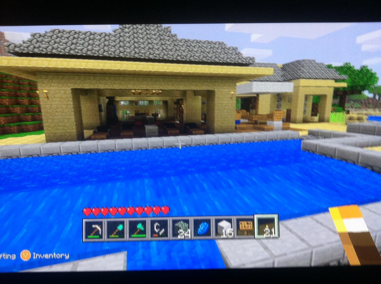 Xbox minecraft beach house minecraft project for Modern house xbox minecraft