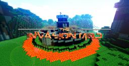 Invasion Mod Map Minecraft Project