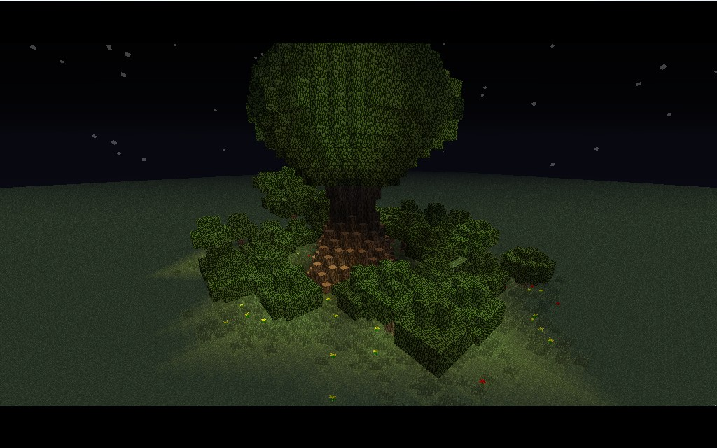 Man Made Tree Minecraft Project
