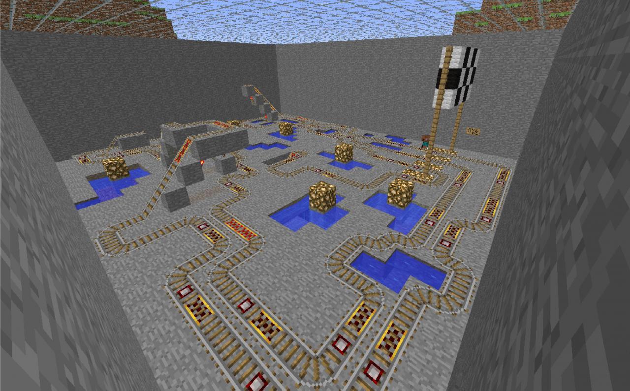 The Main MarioCart Track!