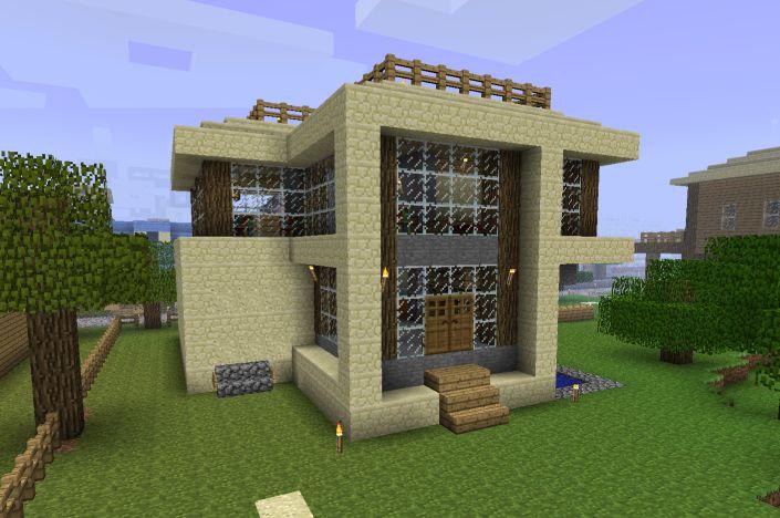 Minecraft Build Upstairs