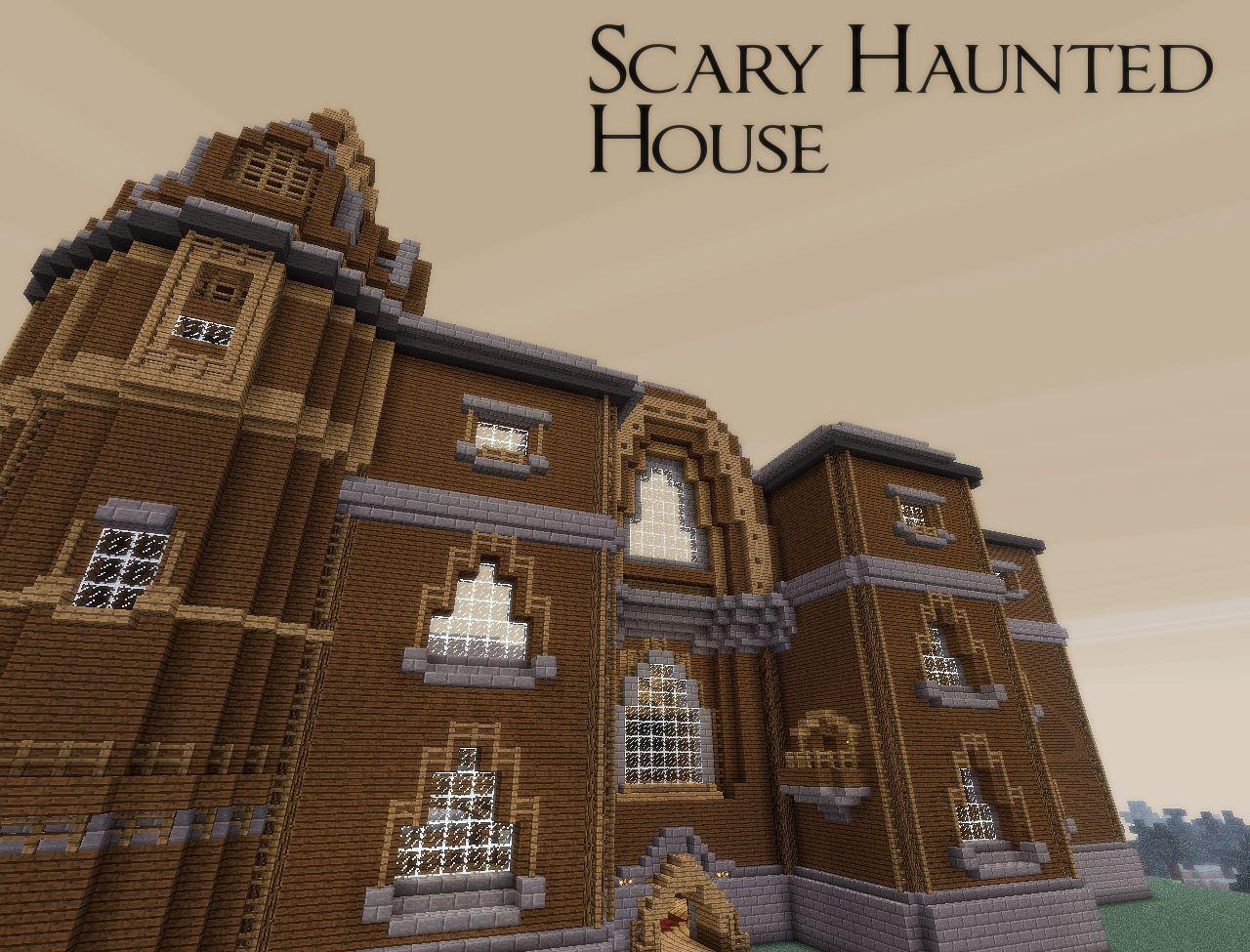 Scary Haunted House Halloween 2012 Adventure Minecraft Map