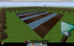How to buld a simple farm! Minecraft