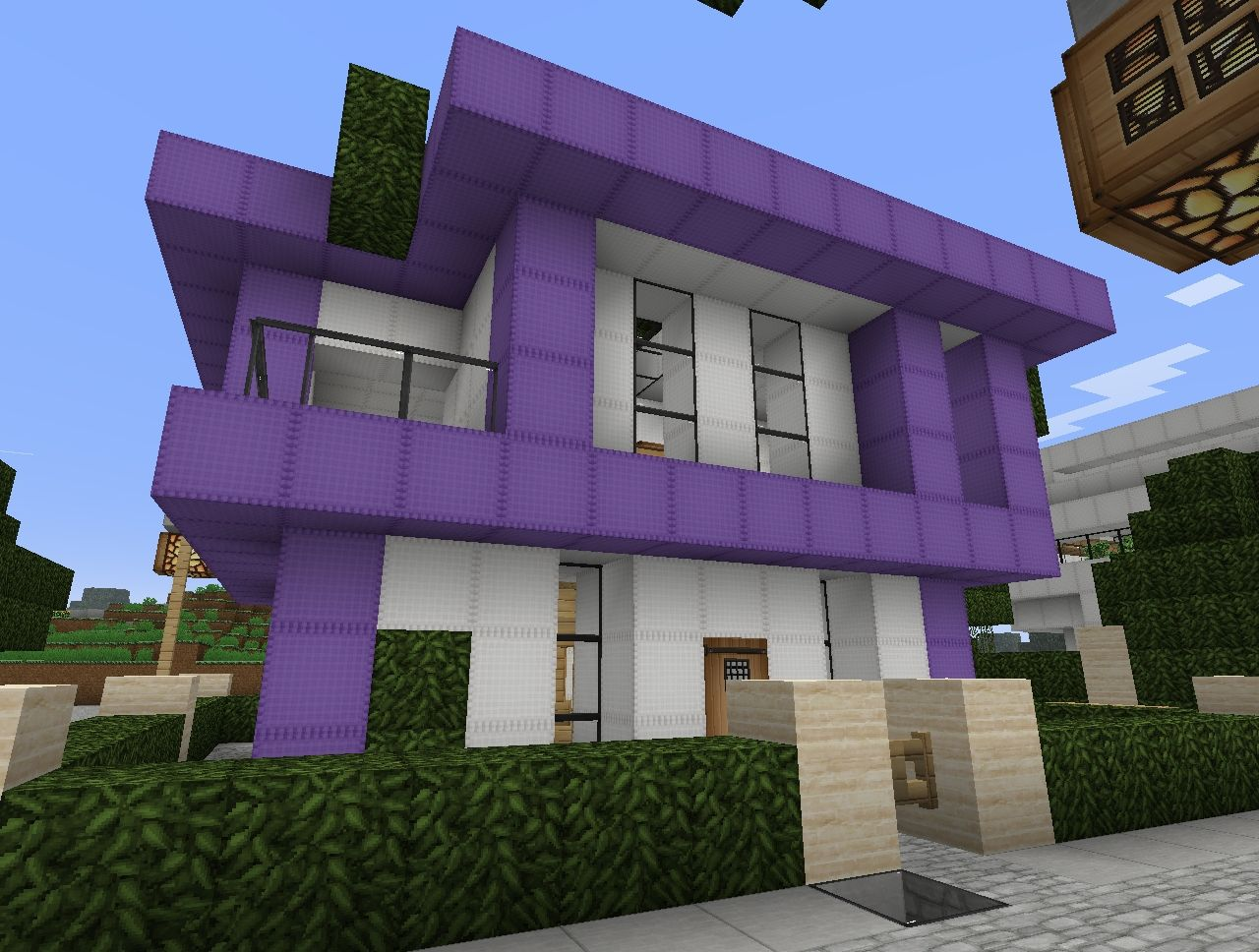Modern house project v0 2 by ints12 minecraft project for Modern house projects