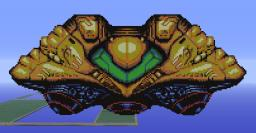 Samus Aran's Ship from Metroid: I want one. Minecraft Project