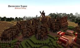 Dormientes Lupus, Medieval Village Minecraft Map & Project