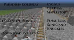Paradise by Coldplay + 3 songs!! Minecraft