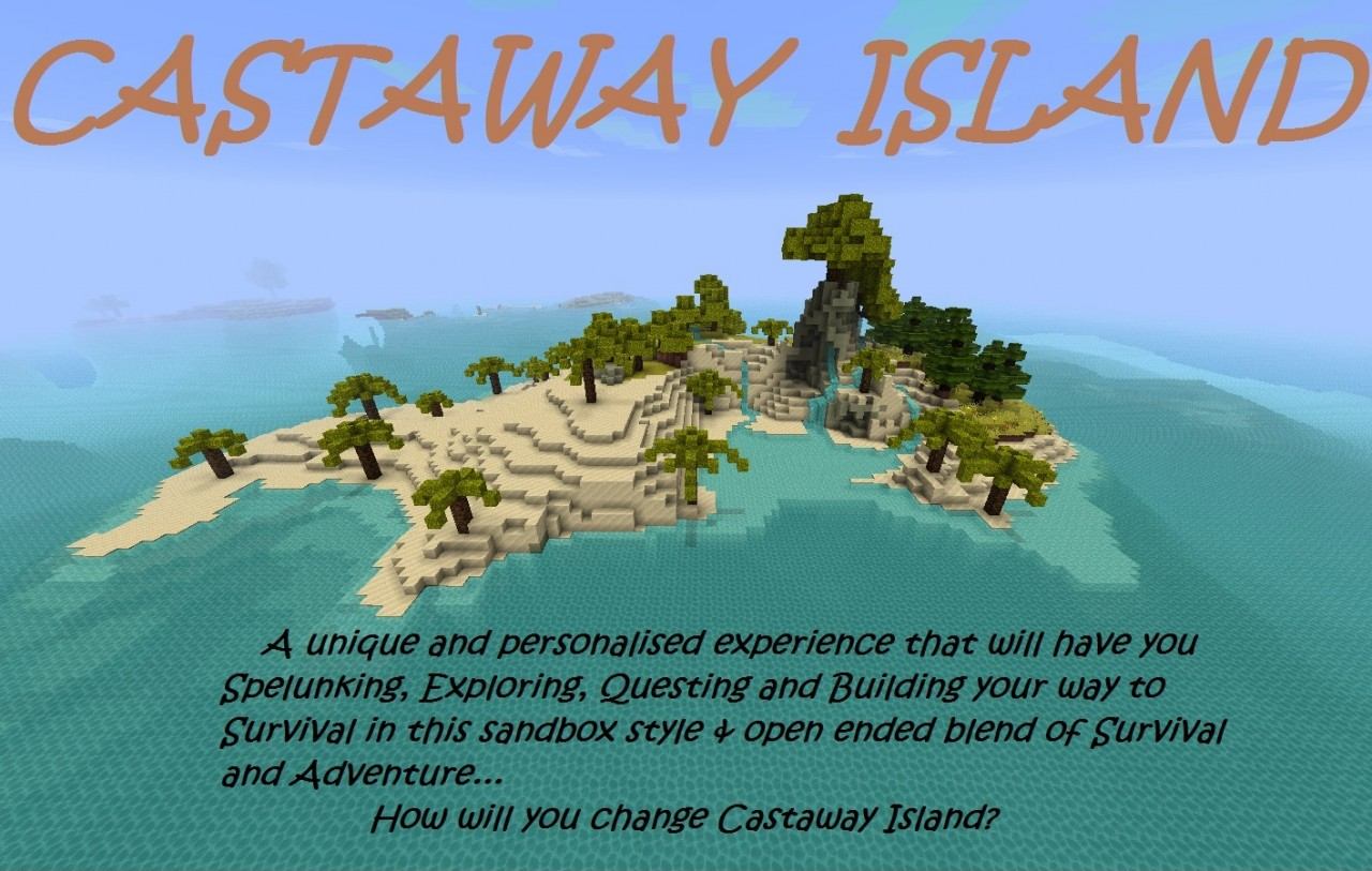 Minecraft Survival Island Castaway Map
