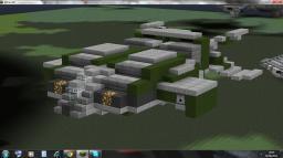 Alien: UD4L Cheyenne Drop Ship (zeppelin mod compatible) Minecraft