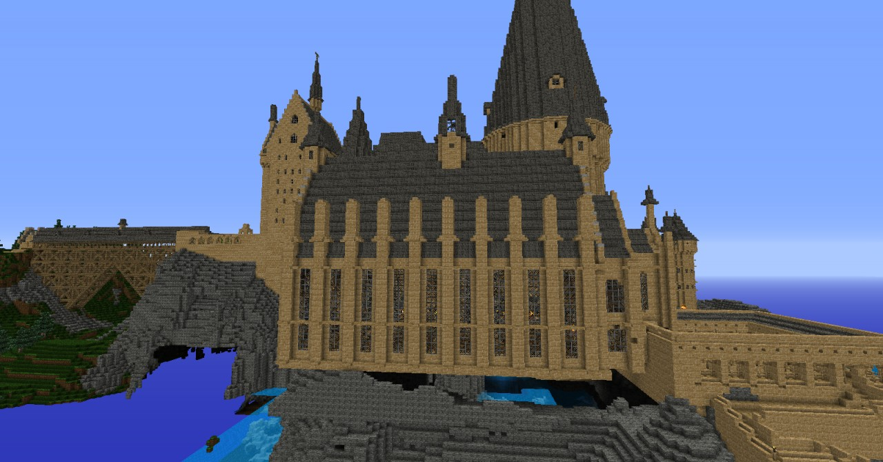 Hogwarts Castle Minecraft Map Download 1.2 5 - pargget