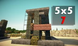 5x5 House 7 Minecraft Map & Project