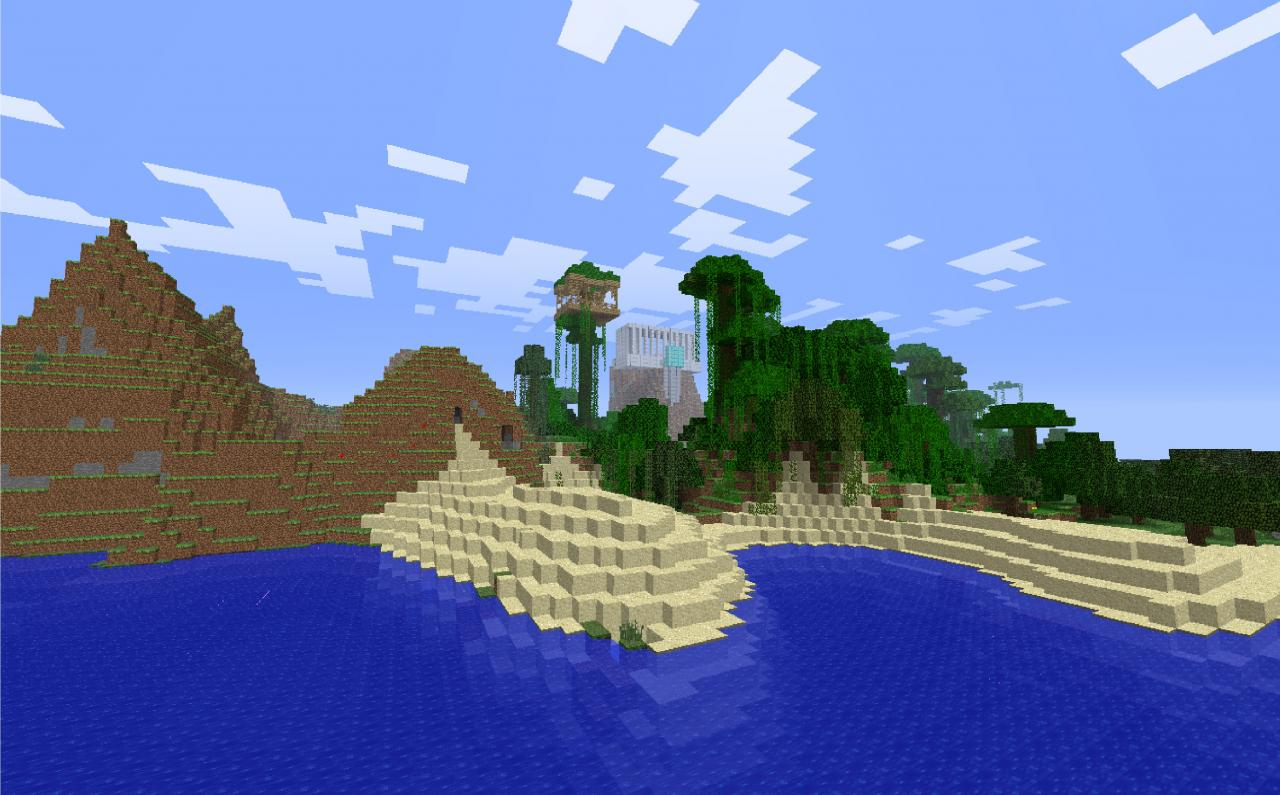 The Skyland - One of the factions homes
