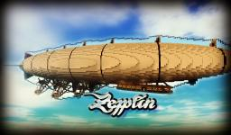 Zepplin (World+Schematic!) Minecraft