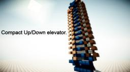 Minecraft - Compact Up/Down Elevator Minecraft Map & Project