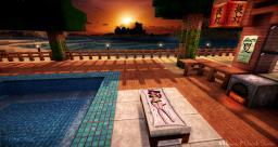 Beach Sunset Minecraft Map & Project