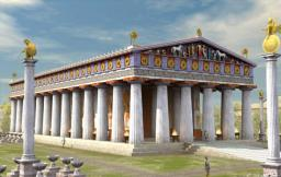 Temple Of Zeus(Large Single Building)(Ancient Olympia) Minecraft Map & Project