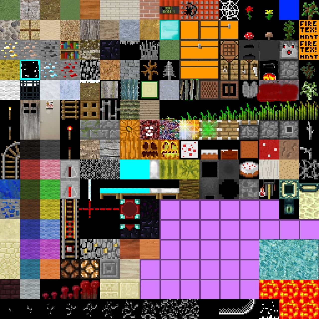 Minecraft Block Texture 64x64 Related Keywords & Suggestions