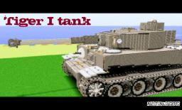 Tiger I tank! Minecraft