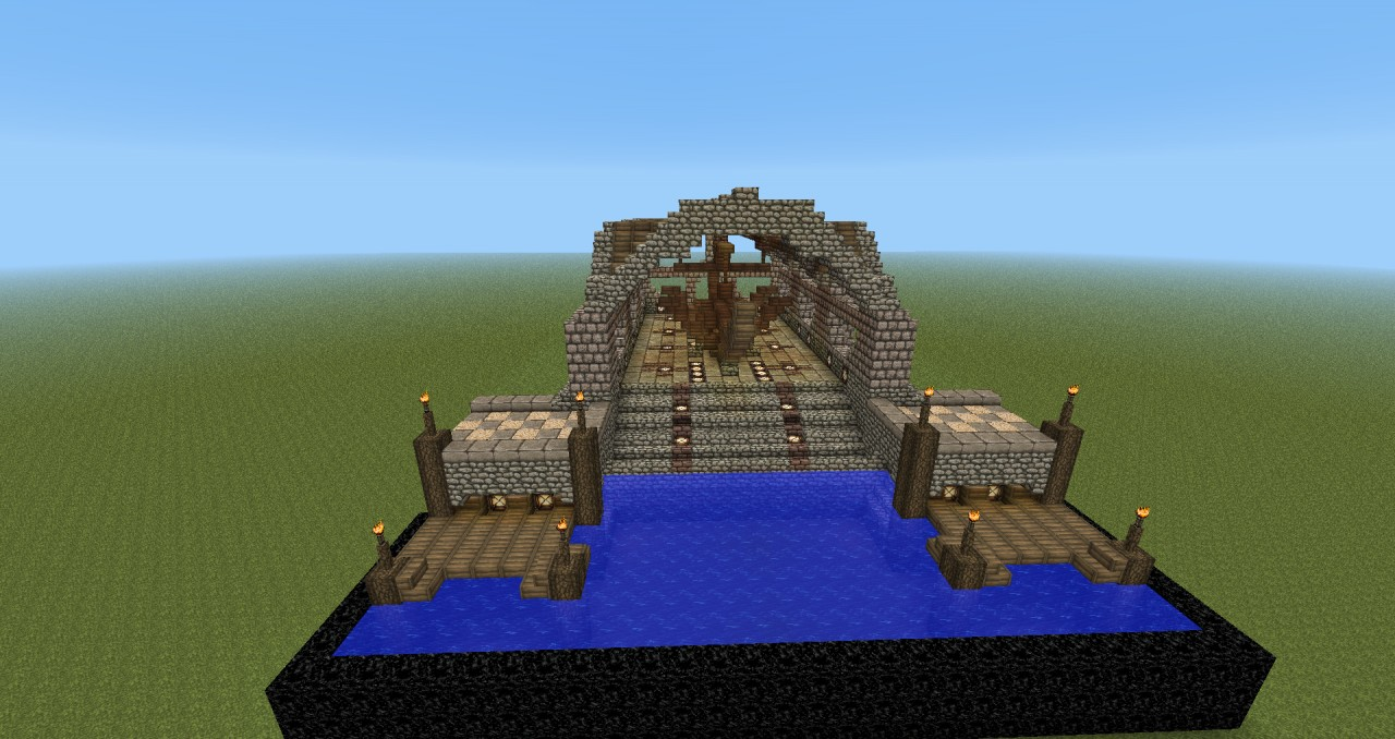 minecraft tutorial how to build a medieval ship