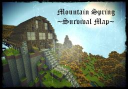 Mountain Spring- Survival Map Minecraft Project