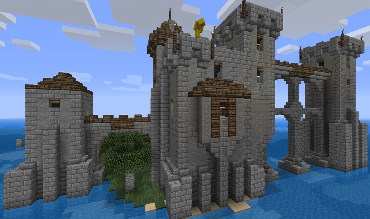Isolated Island Fort Minecraft Project