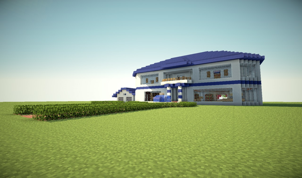 My Luxury House Minecraft Project
