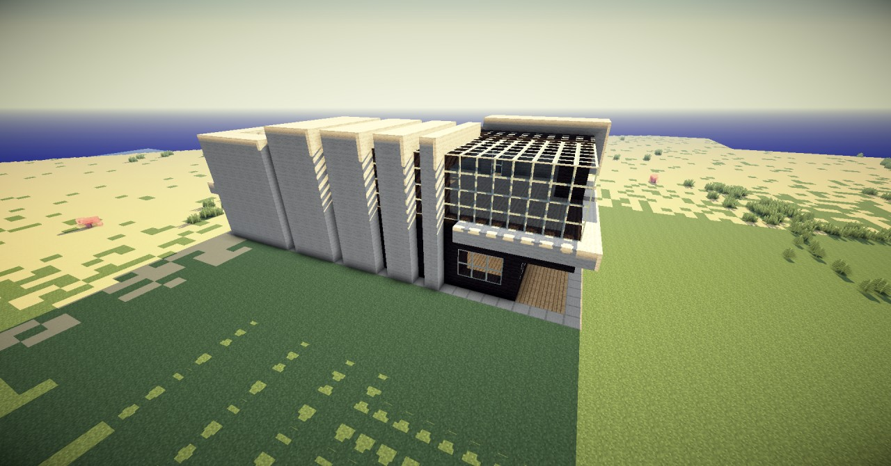 Modern Mansion By Xraiunion4000x Skeletton Styled