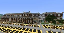 modern school and restaurant. Minecraft Map & Project