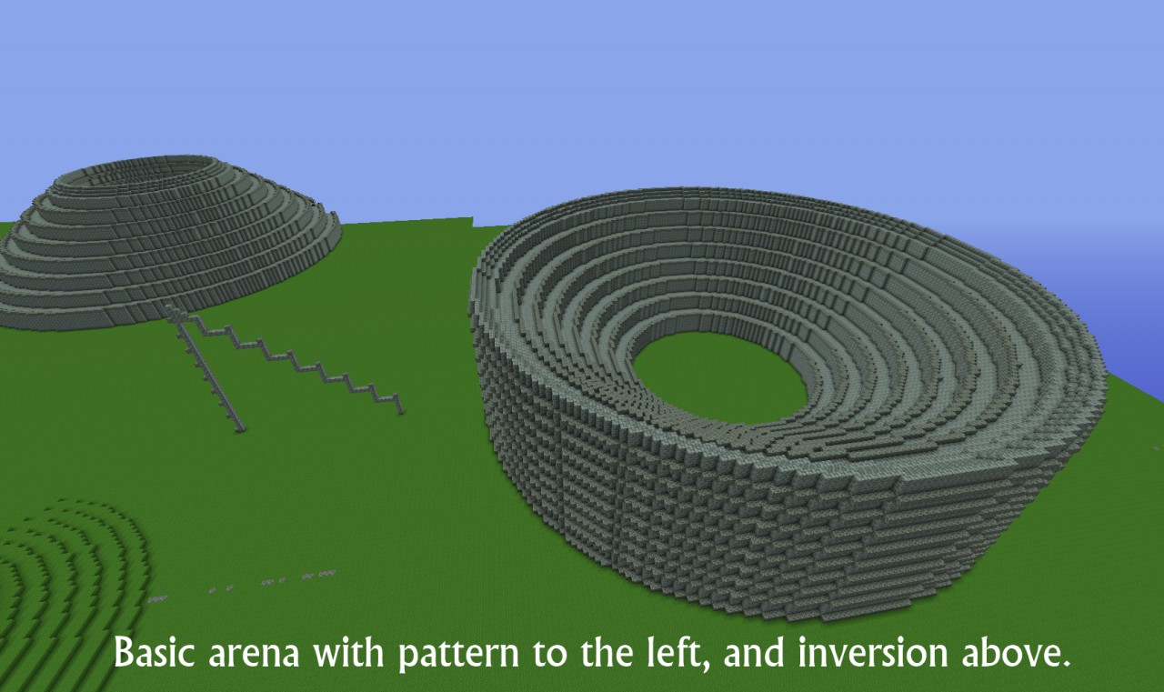 how to make a circle in minecraft worldedit