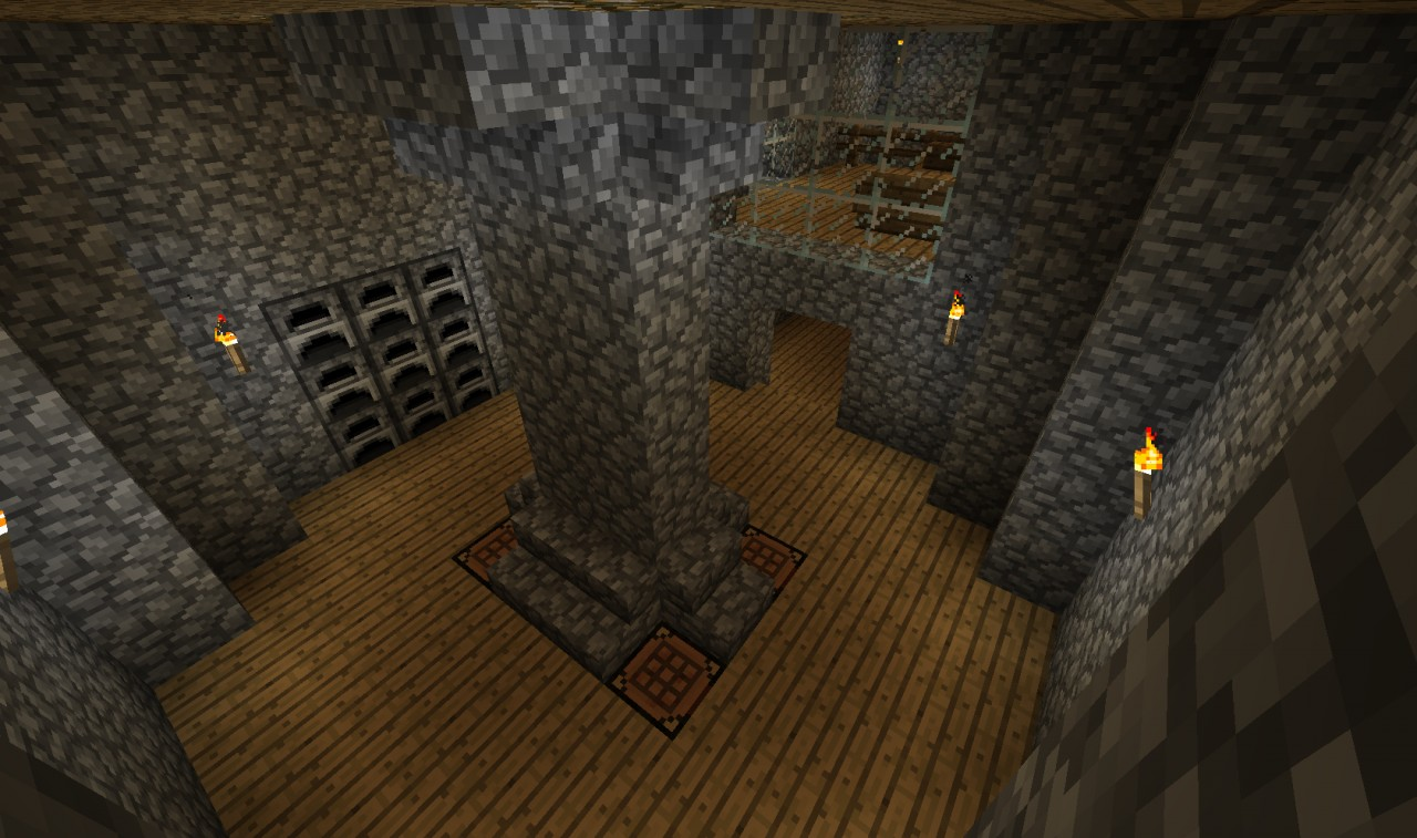 how to make a cool underground house in minecraft
