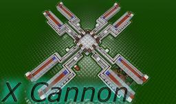 X Cannon Minecraft