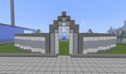 a temple Minecraft Map & Project