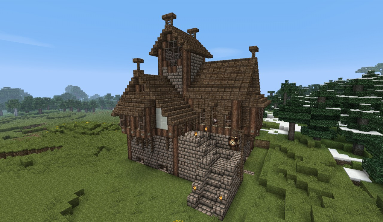 Medieval Houses And Buildings Bundle Work In Progress