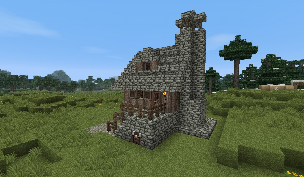 How To Make A Small Medieval House In Minecraft Dance drummingcom