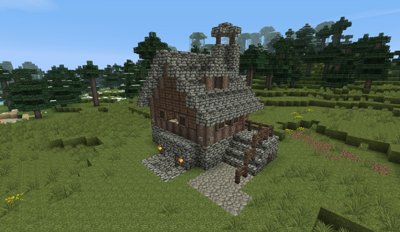 small medieval house 1 by heart craft minecraft project