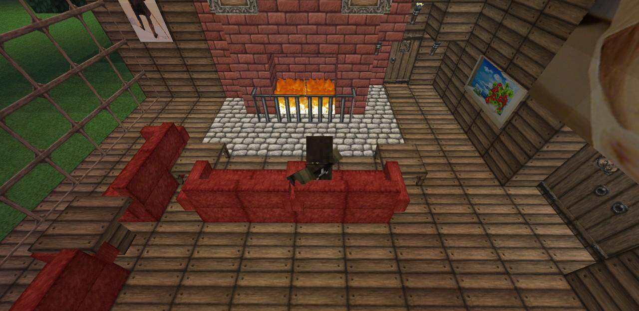 Luxury Cabin Mrcrayfish 39 S Furniture Mod Support Minecraft Project