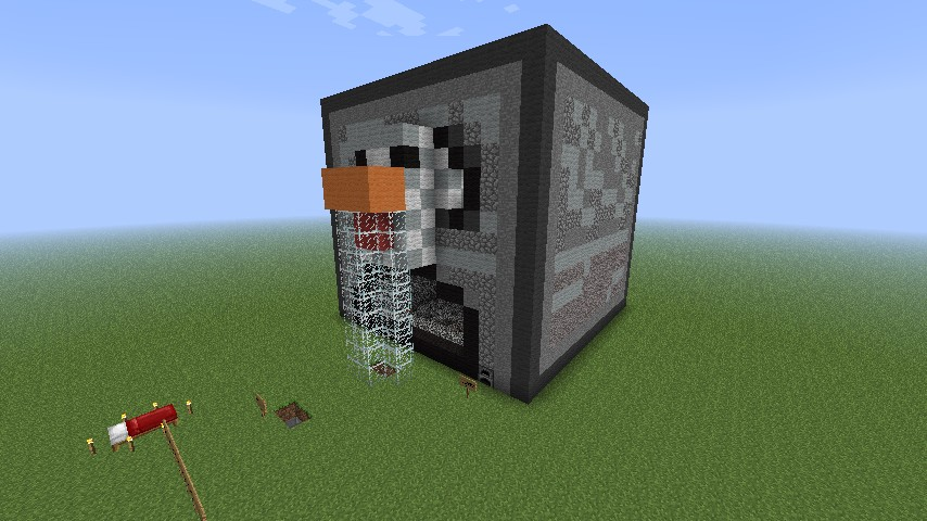 Big Functional Furnace Cook The Spy Minecraft Project