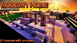 ARIA's SERVER - MODERN HOME A TOPPERS101 PROJECT Minecraft Map & Project