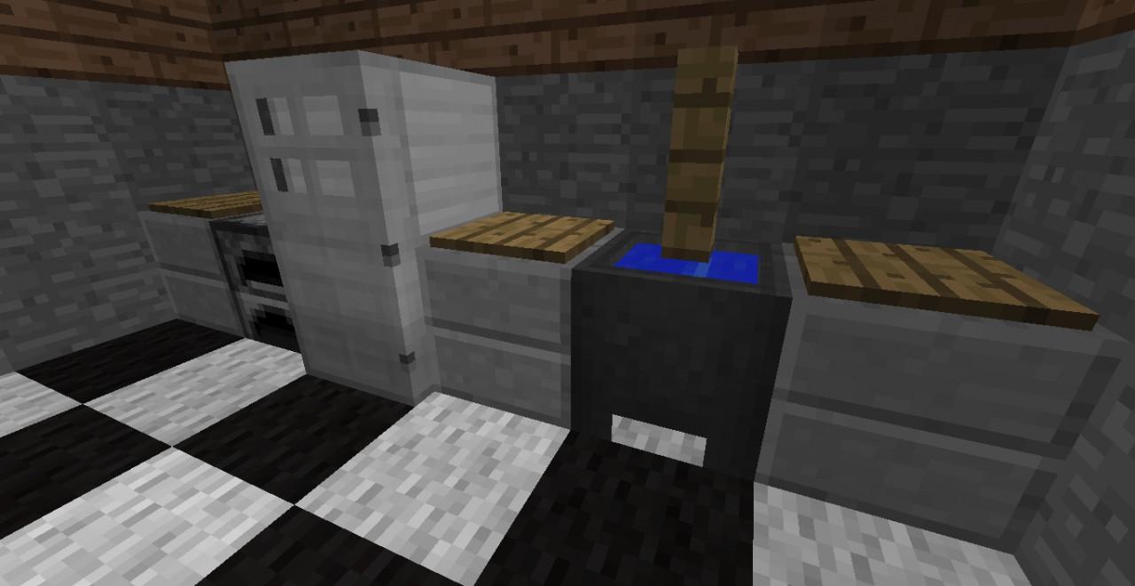 Minecraft kitchen on 28 images minecraft kitchen for Kitchen ideas on minecraft