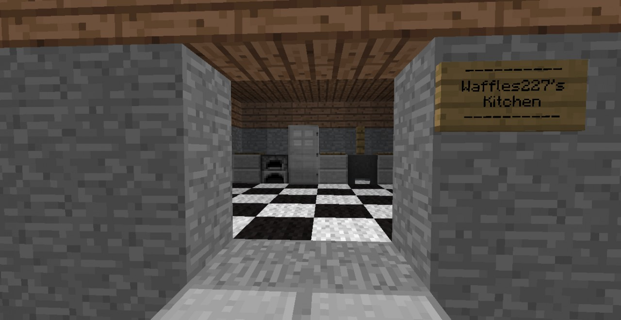 Kitchen For Minecraft Building Tutorial How To Make A Nice Kitchen Minecraft Project