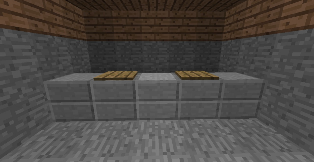 Step 3: Place pressure plates every other counter starting on the 2nd.
