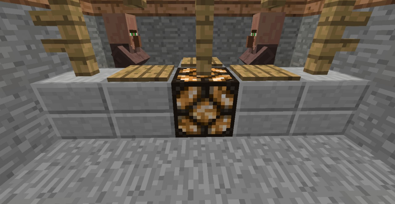 Step 7 Part II: Place a Redstone Lamp where the counter was.