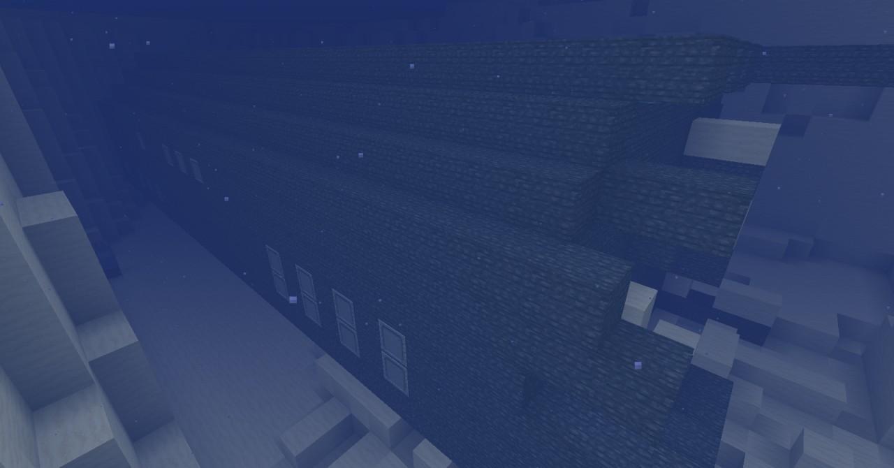 Sunken Submarine Minecraft Project