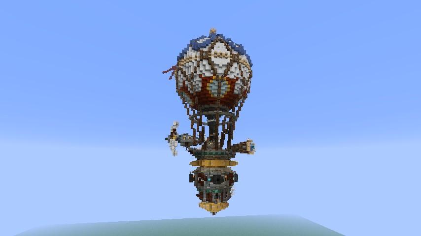 Von Trapp S Battle Balloon Minecraft Project