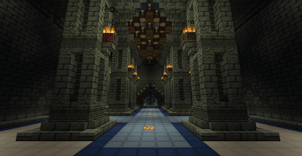 ideas for rooms in a minecraft castle bedroom and living room