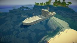 1930's Freighter Minecraft Map & Project